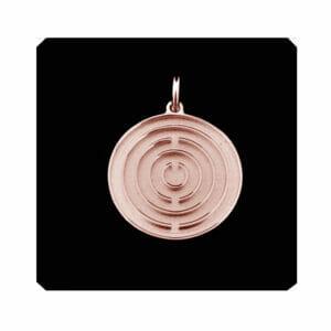Amulett Roségold klein