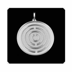 Amulett Silber mittel