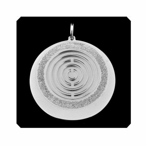 Amulett Silber groß voll