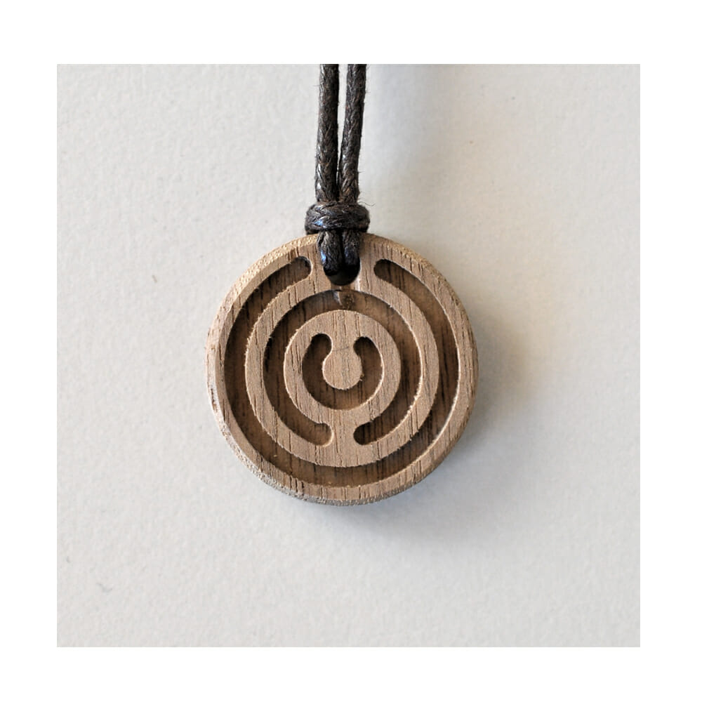 Amulett Holz klein