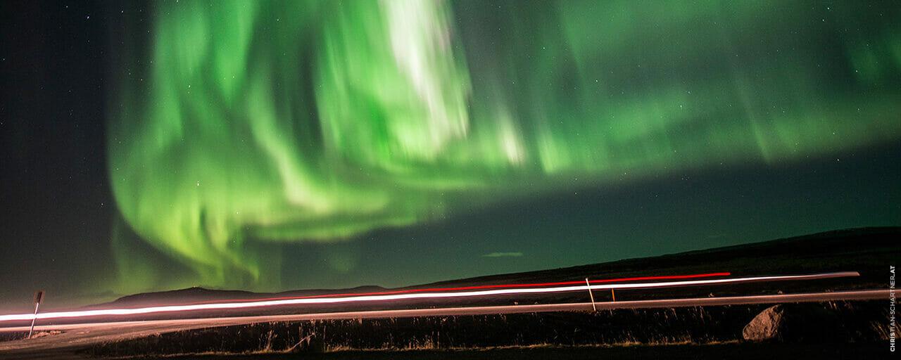 Zentralsonne Polarlichter