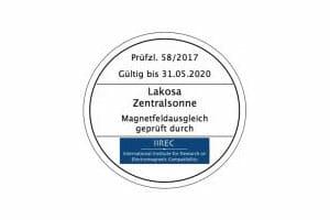 Zertifikate Zentralsonne