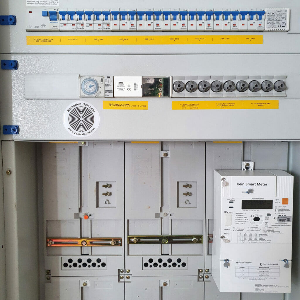 Radiation Balancer Stromkasten Zählerkasten